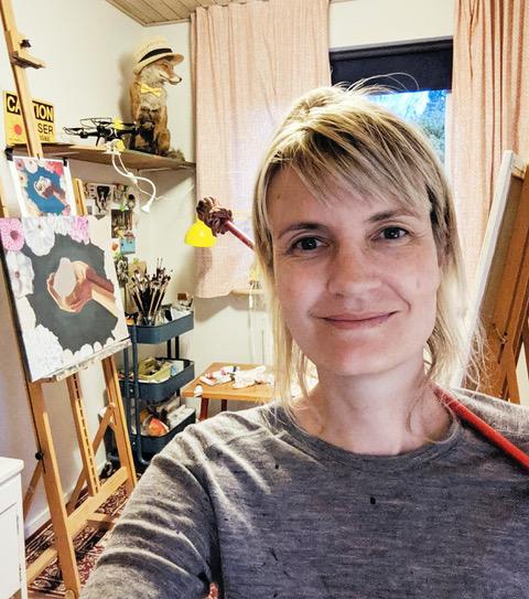 Liv Vinter portrait painter